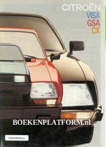 Citroen Visa GSA CX brochure