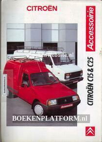 Citroen C15 & C25 accesoires brochure