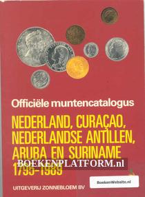 Officiele muntencatalogs Nederland, Curacao etc.