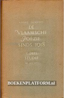De Vlaamsche Poezie sinds 1918