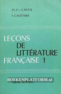 Lecons de litterature francaise 1