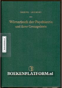 Worterbuch der Psychiatrie und ihrer Grenzgebiete
