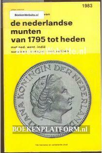 De Nederlandse munten van 1795 tot heden
