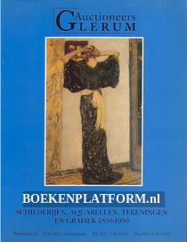 Schilderijen, Aquarellen, Tekeningen en Grafiek 1850-1950