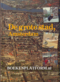De grote stad Amsterdam