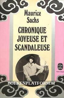 Chronique joyeuse et scandaleuse