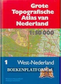 Grote Topografische Atlas van Nederland nr.1 West-Nederland