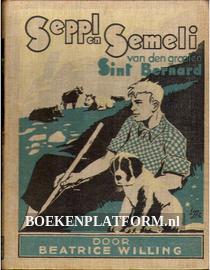 Seppl en Semeli van den grooten St.Bernard