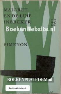 0518 Maigret en de luie inbreker