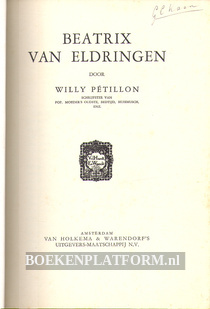 Beatrix van Eldringen