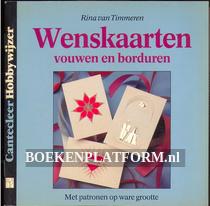 Wenskaarten vouwen en borduren