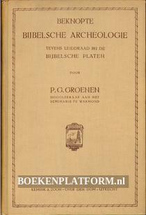 Beknopte bijbelsche archeologie