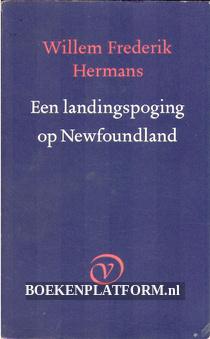 Een landingspoging op Newfoundland