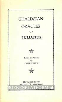 Chaldaean Oracles of Julianus