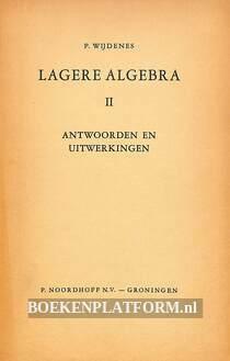 Lagere algebra II