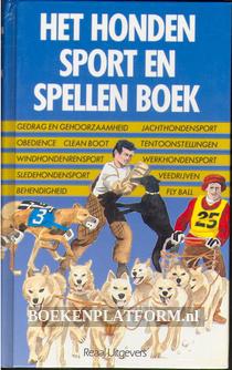 Het honden sport en spellen boek