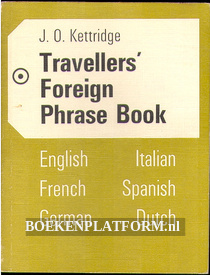 Travellers Foreign Phrase Book