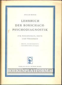 Lehrbuch der Rorschach-psychodiagnostiek