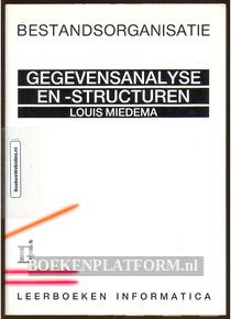 Gegevens- analyse en -structuren