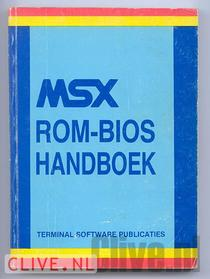 Msx rom-bios handboek