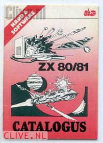 ZX 80/81 Hard & Software Catalogus