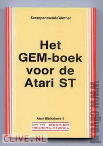 Gem-boek voor de atari st