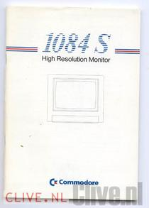 1084 S High Resolution Monitor manual