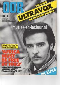 Muziekkrant Oor 1981 nr. 07