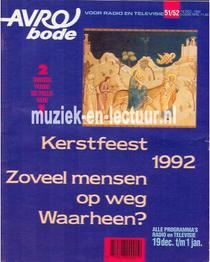 AVRO bode 1992, nr.51/52