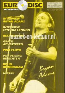 Euro Disc Agenda oktober/ november 1994 nr. 43