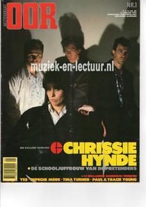 Muziekkrant Oor 1984 nr. 01