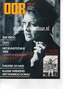 Muziekkrant Oor 1982 nr. 12
