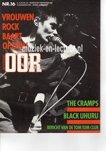 Muziekkrant Oor 1981 nr. 16