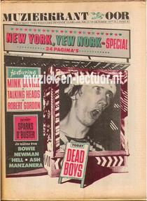 Muziekkrant Oor 1977 nr. 21