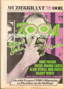 Muziekkrant Oor 1975 nr. 11