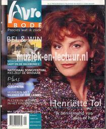AVRO bode 2001, nr.09
