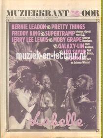 Muziekkrant Oor 1975 nr. 01