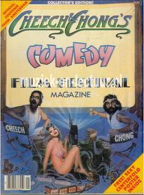 Cheech and Chong's comedy Film festival magazine 1982