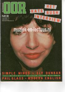 Muziekkrant Oor 1982 nr. 18