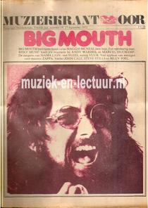 Muziekkrant Oor 1972 nr. 19