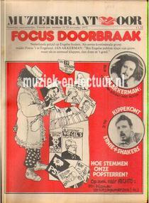 Muziekkrant Oor 1972 nr. 23