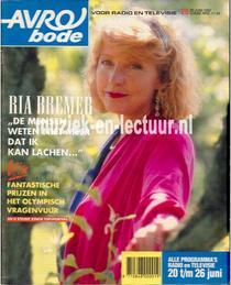 AVRO bode 1992, nr.25