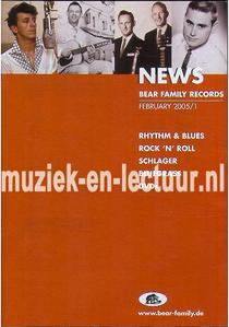 Bear Family News 2005 nr. 1