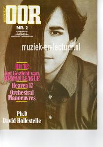 Muziekkrant Oor 1982 nr. 02
