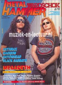 Metal Hammer & Aardschok 1990 nr. 09
