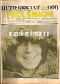 Muziekkrant Oor 1972 nr. 20
