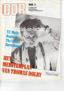 Muziekkrant Oor 1982 nr. 01