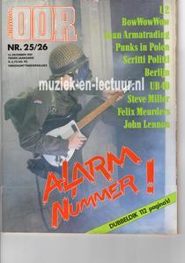Muziekkrant Oor 1981 nr. 25/26
