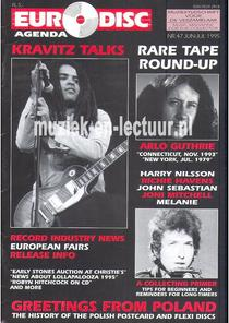 Euro Disc Agenda juni/juli 1995 nr. 47