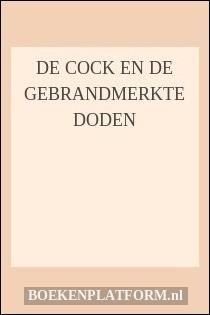 De Cock En De Gebrandmerkte Doden